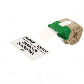 """Etikett, folyamatos, papír, nem öntapadó, 57 mm x 22 m, LEITZ """"Icon"""" fehér"""