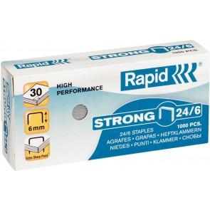"""Tűzőkapocs, 24/6, horganyzott, RAPID """"Strong"""""""