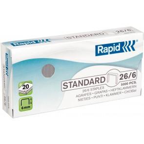 """Tűzőkapocs, 26/6, horganyzott, RAPID """"Standard"""""""