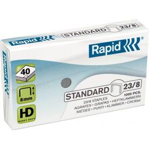 """Tűzőkapocs, 23/8, horganyzott, RAPID """"Standard"""""""