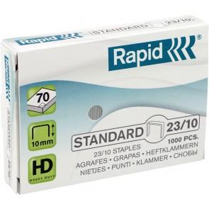 """Tűzőkapocs, 23/10, horganyzott, RAPID """"Standard"""""""