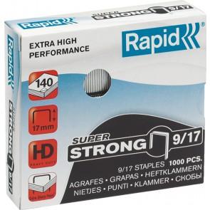 """Tűzőkapocs, 9/17, horganyzott, RAPID """"Superstrong"""""""
